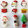 usb flash drives bulk cheap wholesale ,christmas theme Santa Claus shaped usb flash drive for christmas promotion gifts