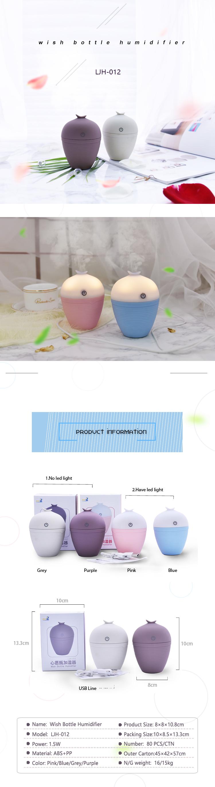 New product! Wholesale mini usb air humidifier car aroma diffuser