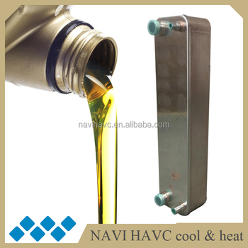Copper brazed plate heat exchanger oil cooler for cnc machine, View ...
