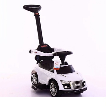 china factory wholesale kids push car plastic ride on baby toy car foot to floor baby