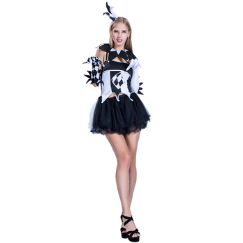 Halloween Clown Girl Outfit.Adult Women Jester Clown Girl Costumes For Halloween Cosplay Party Fancy Dress Buy Adult Women Jester Clown Costumes Women Jester Costumes Women