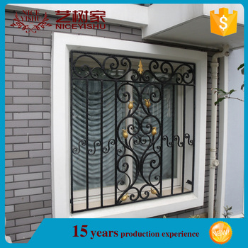 Modern Trendy Wrought Iron Window Grill Design 10