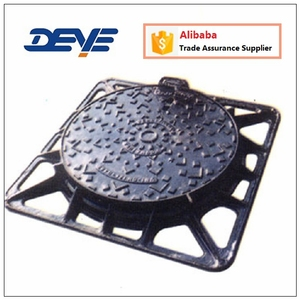 Cast iron or Ductile Iron Manhole Cover MHC-T2