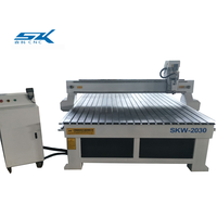 best price wood door making machine cnc router machine with HQD/HSD aircooling spindle