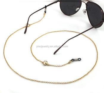 c538874ac08f Gl4005 Beautiful Gold Rhinestone Eyeglasses Chain For Eyewear Accessories -  Buy Rhinestone Eyeglasses Chain