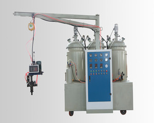 Tri-component(color available) elastomer pouring machine to produce car steer