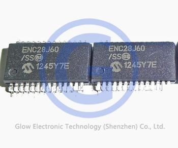 Microchip Ethernet Ic 8kb Ram Mac&phy Stand-alone Ethernet Controller With  Spi Interface Enc28j60 Enc28j60/ss Ssop-28 - Buy Enc28j60,Ethernet
