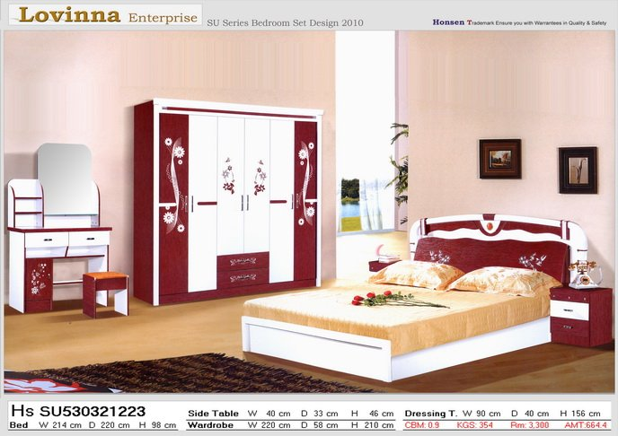 Chambre coucher moderne mobilier intrieur complet for Modele des chambres a coucher