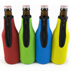 Premium quality customized logo neoprene single beer bottle cooler