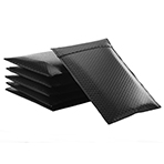 Biodegradable&compostable  Mailer 100% Paper surface Black kraft Paper inner Padded  Corrugated  Surf Paper Rigid  Envelope