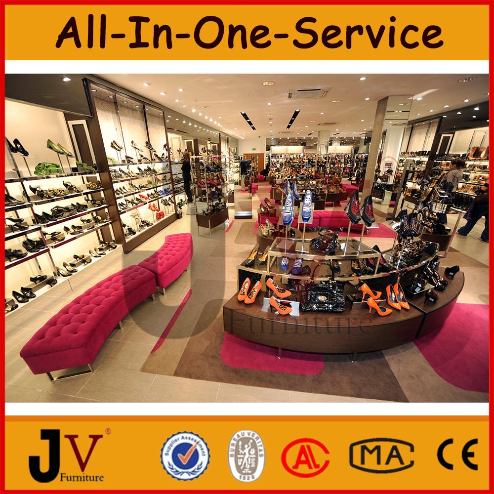 Names Footwear Shops Of Shoe Shop Equipment With Display Rack ...