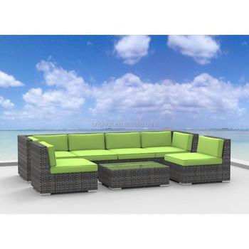 Best Seller Simple Modern Design Rattan Outdoor Sofa Set Cheap Balcony  Furniture