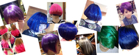 3d Shining Purple Hair Color,Professional Permanent Purple Hair ...