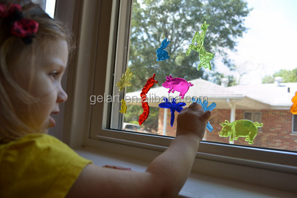 Cherry harvester jelly windows stickers voor vieren