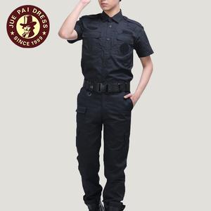 Cheap security guard uniforms black