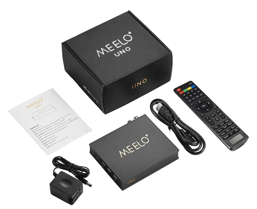 Newest Meelo+ Uno Dvb-t2 Dvb-s2 Android 5 1 Tv Box 2gb/16gb Amlogic S905  Quad-core 2 4g&5g Wifi Android 5 1 Meelo Uno - Buy Android 5 1 Dvb T2,Meelo