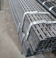 S235JR/S275JR HDG galvanized C channel steel profiles/Angle Iron