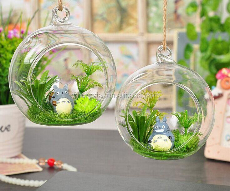 Hand Blown Glass Balls Terrarium Mh 12802