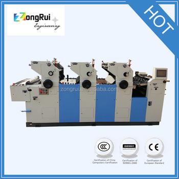 2016 New China A4 Paper Roll To Roll Ink Printer Zr347ii Three 3 ...