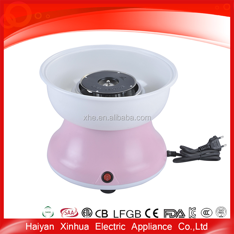 Small food cotton producing candy floss maker