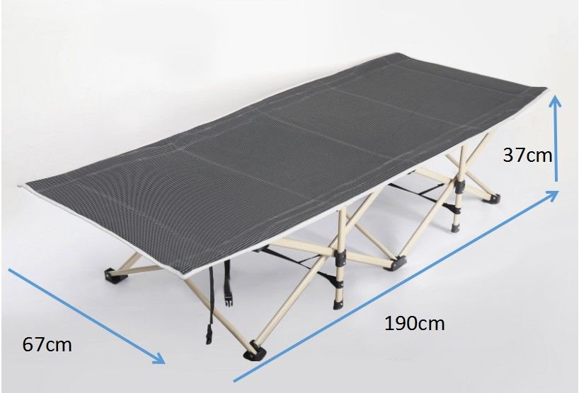 Army camping bed cot camping bed folding chair bed