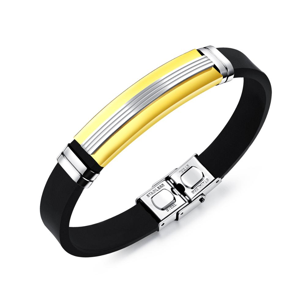 aa70102e5f45 Venta al por mayor pulseras goma metal-Compre online los mejores ...