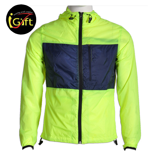 BSCI Nylon Lightweight Pullover Breathable for Bicycle Windbreaker Jackets