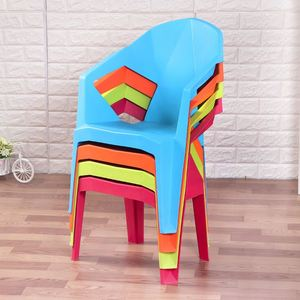 Leisure Armrest Home Furniture Chair Structure dining Antique Chairs plastic frame chair