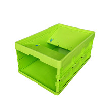 Plastic crate / storage / stacking / folding