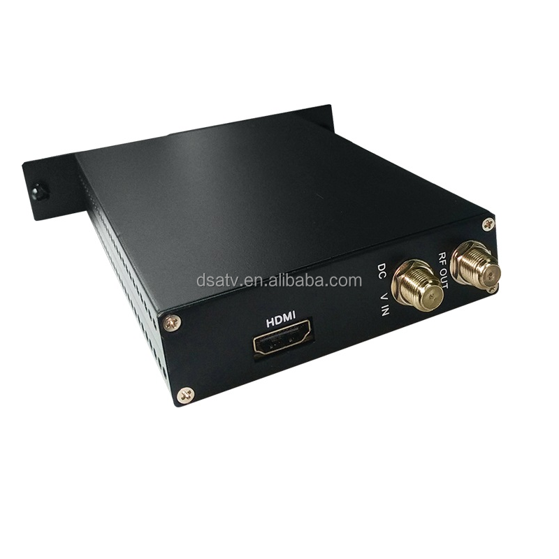 1080 P HD ATSC Mini codifica modulatore (AV/HD IN ATSC RF out) digitale ATSC Modulatore