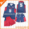 New season sublimation basketball kit sports basketball uniform jersey