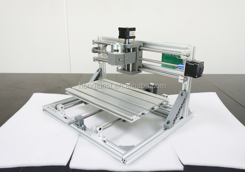 Hongjun Cnc 3018 5500mw Laser Grbl Control Diy Laser Engraving Er11 Cnc  Machine,3 Axis Pcb Milling Machine - Buy Cnc Router Engraver Milling