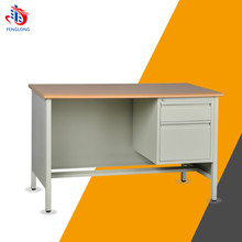office MDF plate metal office desk simple design executive desk with locking drawer