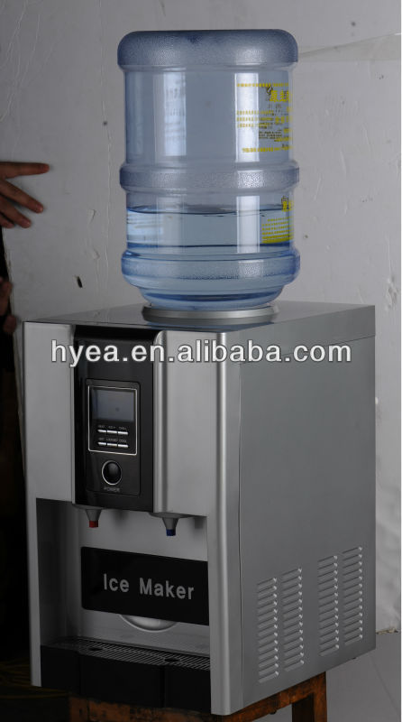 Desktop Water Dispenser,Mini Household Zb 06a Water Dispenser With Ice Maker    Buy Ice Cube Maker With Water Dispenser,Ice Maker With Water Cooler,Water  ...
