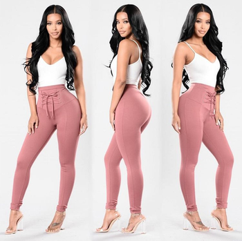 FD 2019 New Coming Design High Waist Tight Fit Yoga Pants