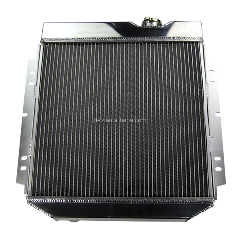 factory direct 3 core auto radiator for FORD MUSTANG V8 289 302 WINDSOR 64 65 66