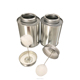 8oz Empty Metal Tin Box With Brush And Screw Top For Pvc Solvent Cement