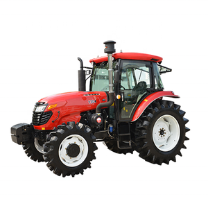 TD series foton 4x4 130HP 4WD wheeled Large Farm Tractor for sale