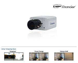 Geovision H.264 Ip Camera 1.3m, Box D/n (With Fixed Lens) - 1.3 Megapixel, Dual Streams From H.264, Mjpeg and Mpeg4 - 2-way Audio - 3gpp/isma