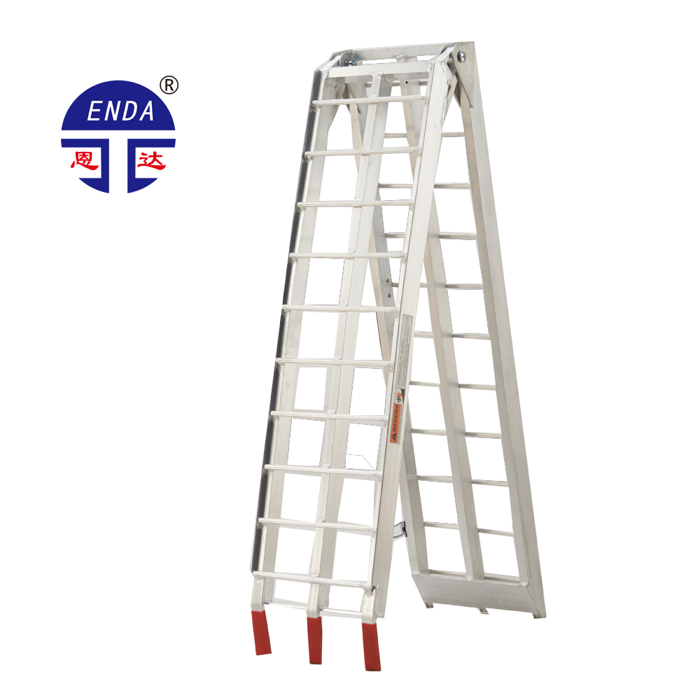 Aluminum Folding Ramps >> Mobile Aluminum Folding Atv Lawnmower Truck Loading Ramps Arched Aluminium Folding Ramp Buy Aluminum Trailer Ramp Mobile Container Load Ramp Used