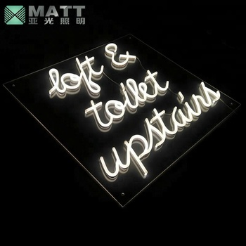 Customized Logo Writing Word Led Neon Flex Sign