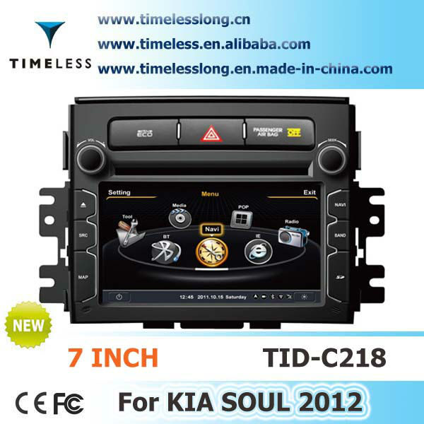 2 Din Car DVD with S100 Platform For KIA soul 2012 with gps,Phonebook, DVR function (camera optional), file copy(TID-C218)