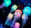 2016 Hot sale led inflatable jellyfish, color changing jellyfish light for event decoration