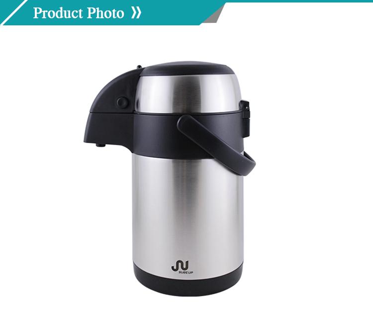 מוצרים חמים 2020 דרום אמריקה בקבוק תה סיר תרמוס קפה סיר ואקום בקבוק 3L