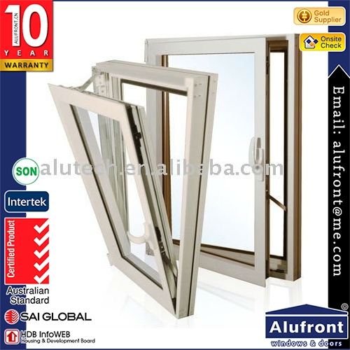 Two way open window, tilt-turn window
