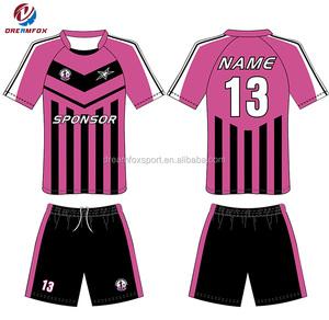 222b7c73cc9 latest design hot sales custom made used soccer jerseys