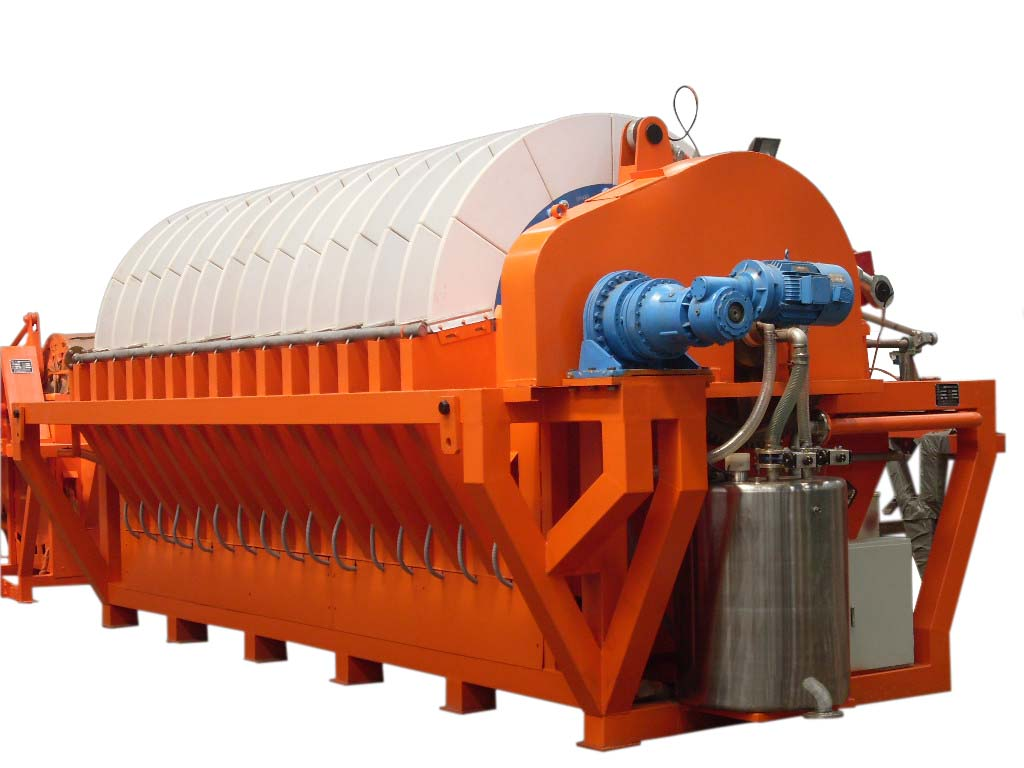 hot sale disc ceramic vacuum filter waste water treatment machine