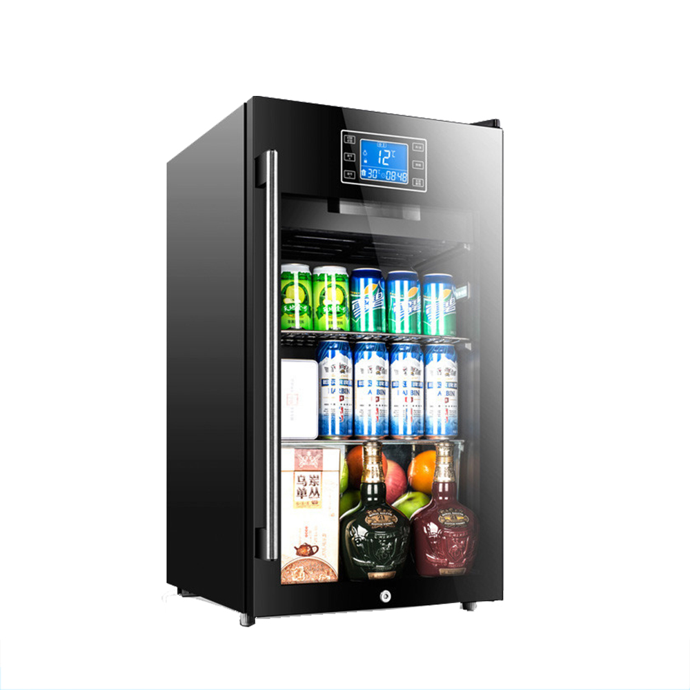 commercial bottle beverage fridge full beer glass lockable front refrigerator of and size wine door mini