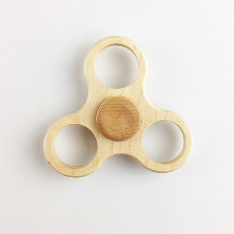 New Unique Wooden Spinner High Speed Toy Hand Spinner Fidget Release for Adult Pocket Toy