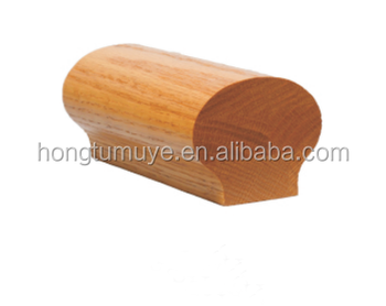 Solid Wood Round Stair Handrail And Railing Veneer Face Extrusion Mould